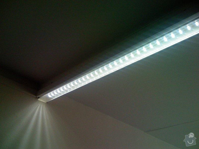 Rekonstrukce kuchyně a chodby bytu: LED_svetlo_detail