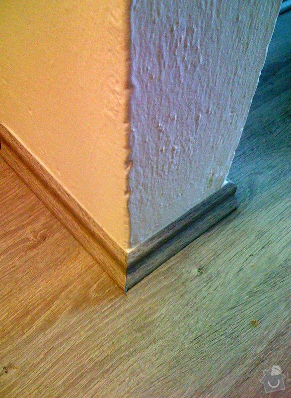 Rekonstrukce kuchyně a chodby bytu: podlaha_detail