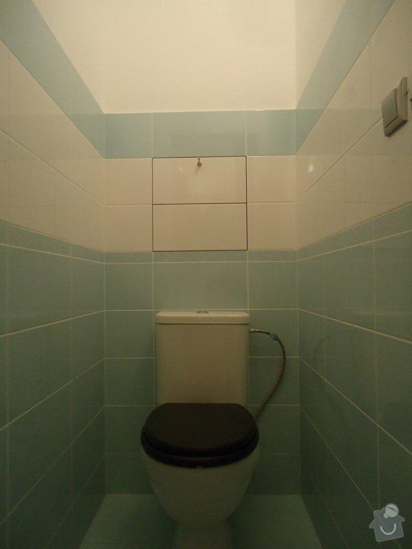 Koupelny a WC obklady,dlažba,: DSC00733