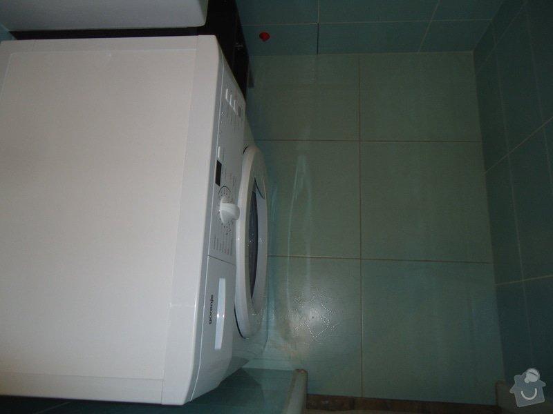 Koupelny a WC obklady,dlažba,: DSC00737