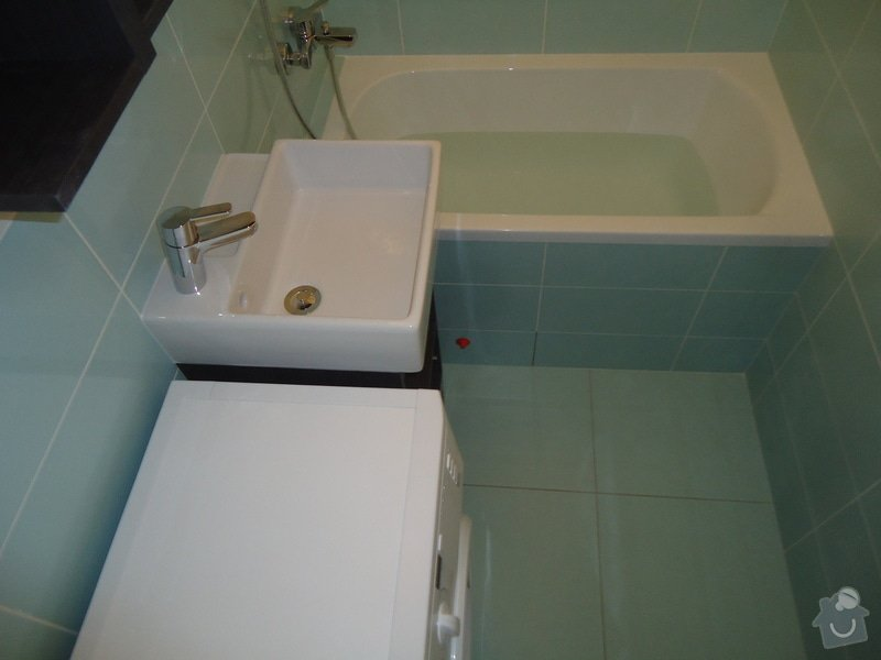 Koupelny a WC obklady,dlažba,: DSC00728