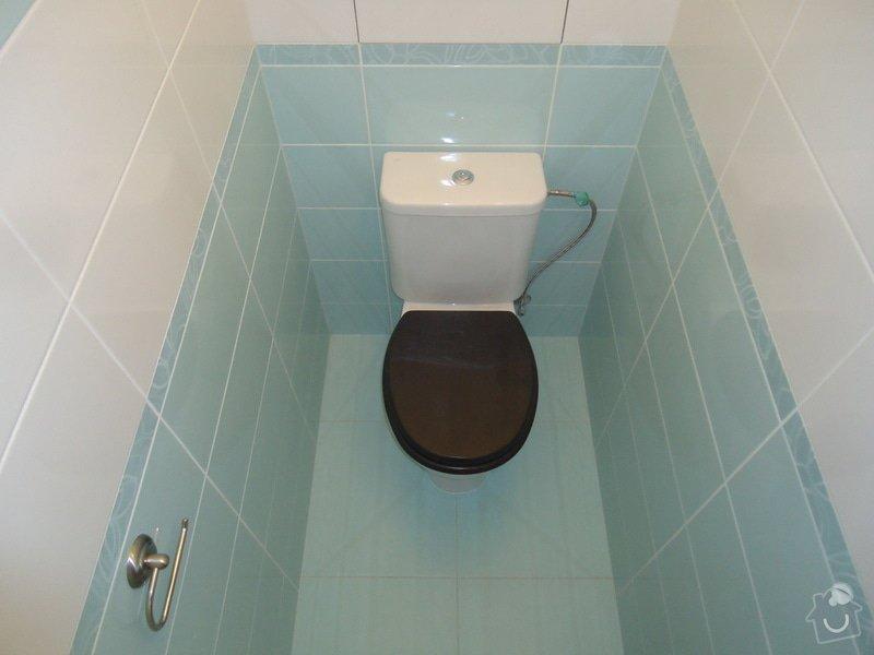 Koupelny a WC obklady,dlažba,: DSC00736