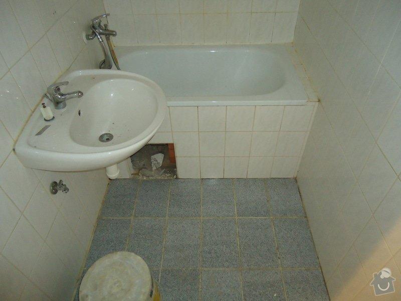 Koupelny a WC obklady,dlažba,: DSC00651