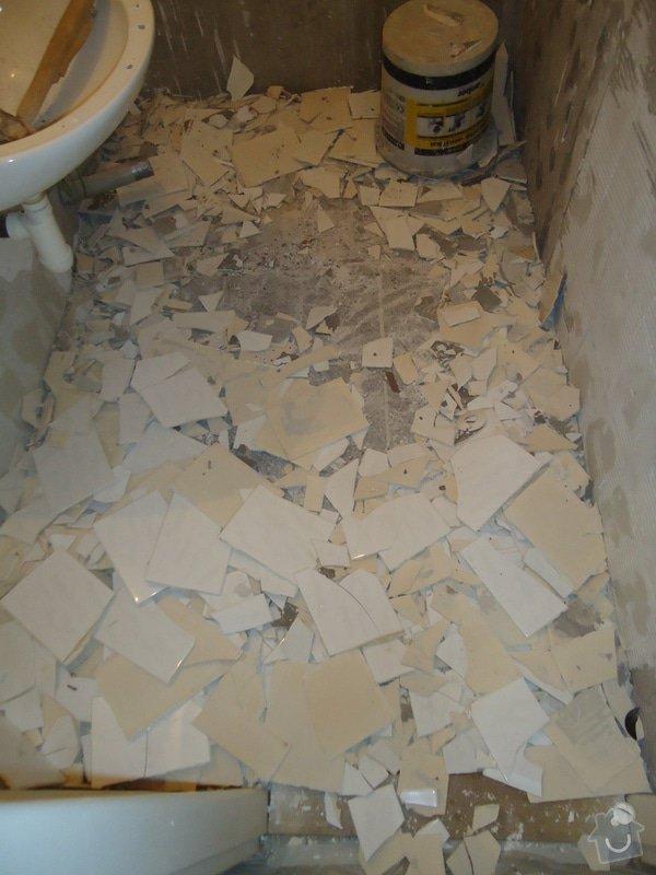 Koupelny a WC obklady,dlažba,: DSC00656