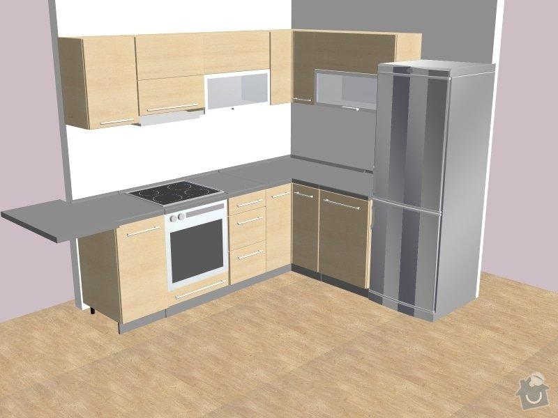 Rekonstrukce 2KK, Praha-Háje, kuchyň: Filip