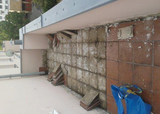 Rekonstrukce terasy 45m2