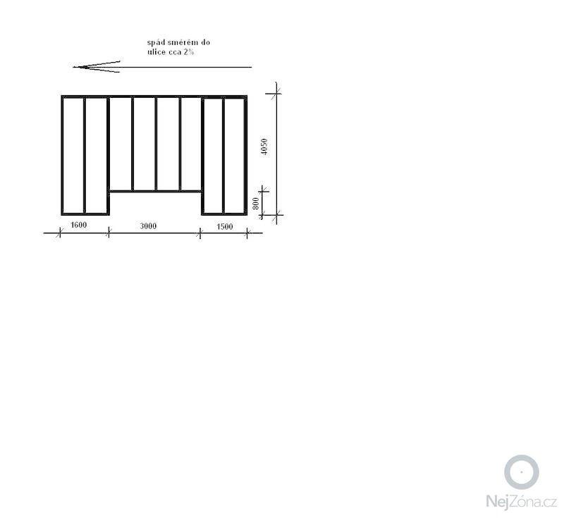 Zasklení střechy pergoly cca 22m2: ramova_konstrukce_stani