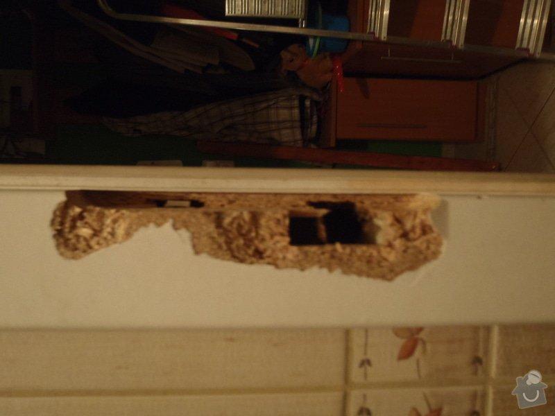 Oprava dřevěných futer s nainstalováním vložky.: PA300478_1_