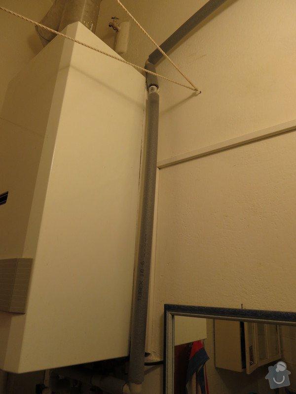 Připojení kuchyně na teplou vodu z kotle v koupelně: IMG_0055