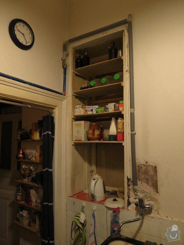 Připojení kuchyně na teplou vodu z kotle v koupelně: IMG_0056