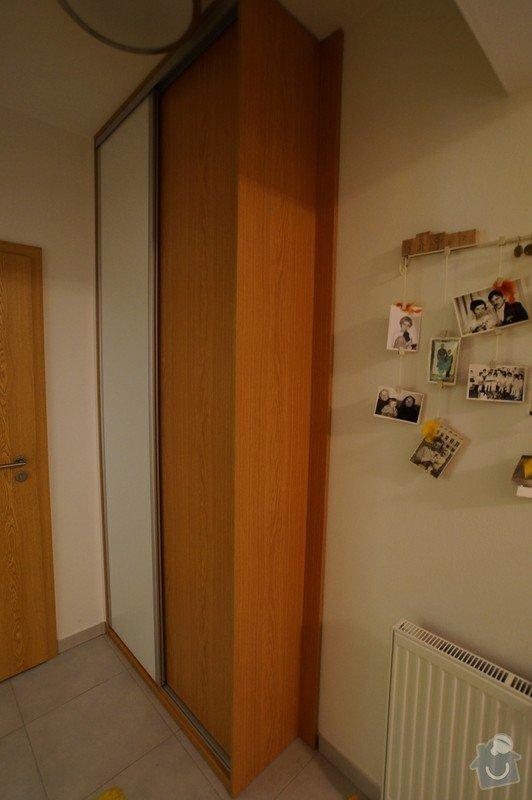 Vestavěná skříň, botník s věšákovou stěnou, koupelnový nábytek: LITVAJOVI_VEST._SKRIN