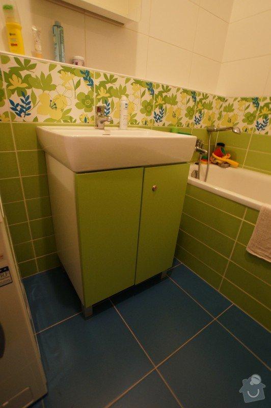 Vestavěná skříň, botník s věšákovou stěnou, koupelnový nábytek: LITVAJOVI_KOUPELNA_2