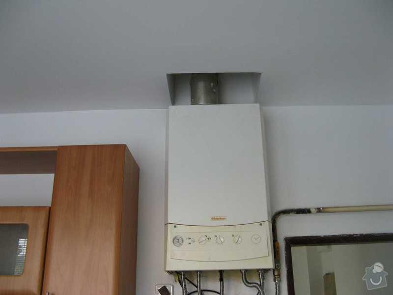 Celková rekonstrukce bytu: kotel_po