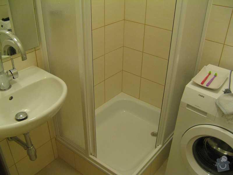 Celková rekonstrukce bytu: koupelna_po