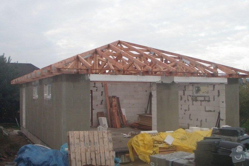 Pokládka střechy 150 m2: Vazniky-pohled_1