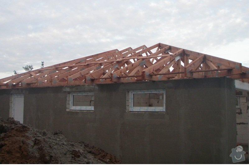 Pokládka střechy 150 m2: Vazniky-pohled_2