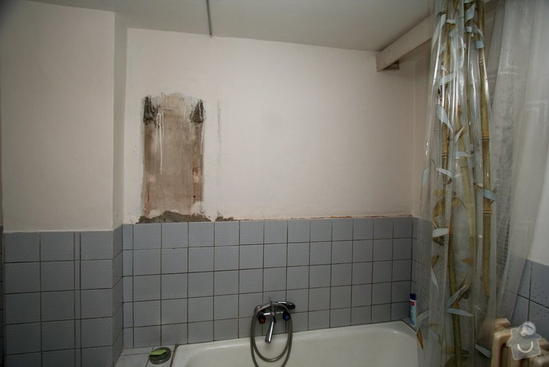 Obkladačské práce cca 3m2: koupelna
