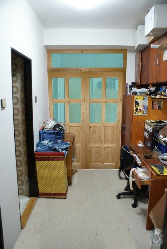Dodání a montáž dřevěných posuvných dveří: projekt_dvere3