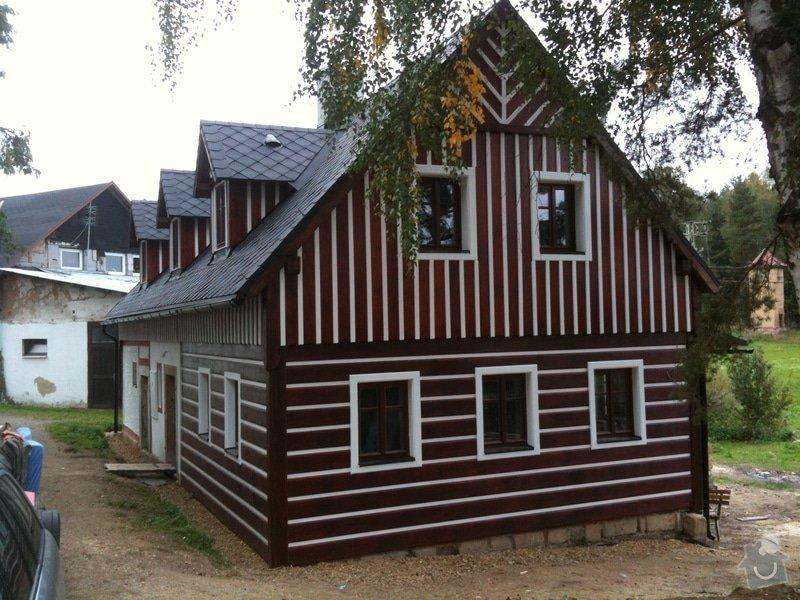 Dokončení rekonstrukce chalupy v Rynolticích (okr. Liberec) : IMG_2076