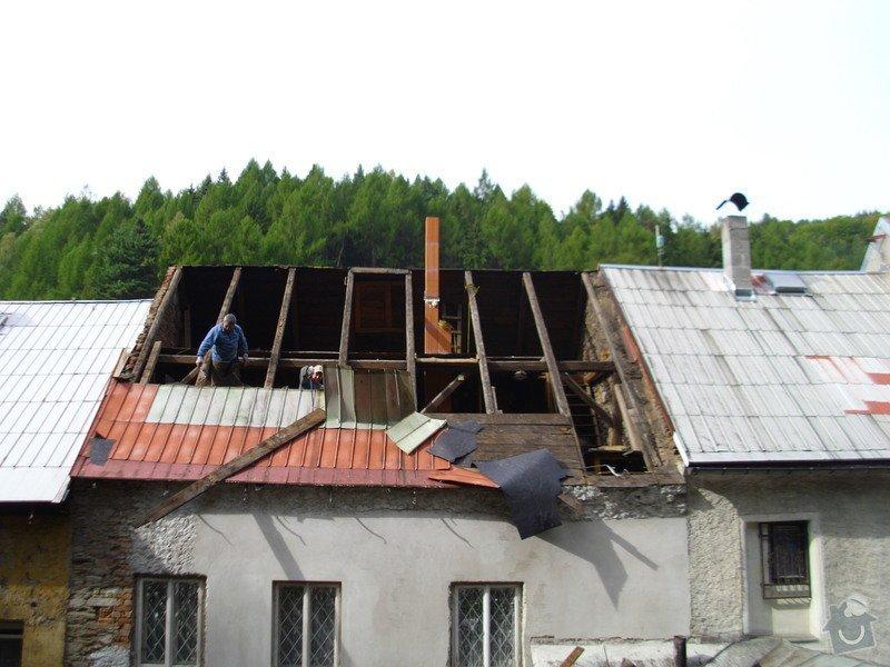 Pokládka střechy ze šindele, bitumenu: IMG_1508