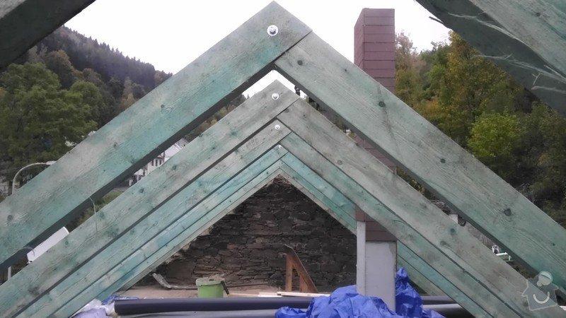 Pokládka střechy ze šindele, bitumenu: IMAG0687
