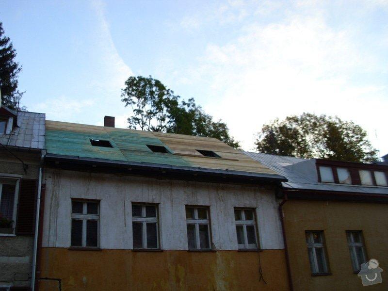 Pokládka střechy ze šindele, bitumenu: IMG_1605