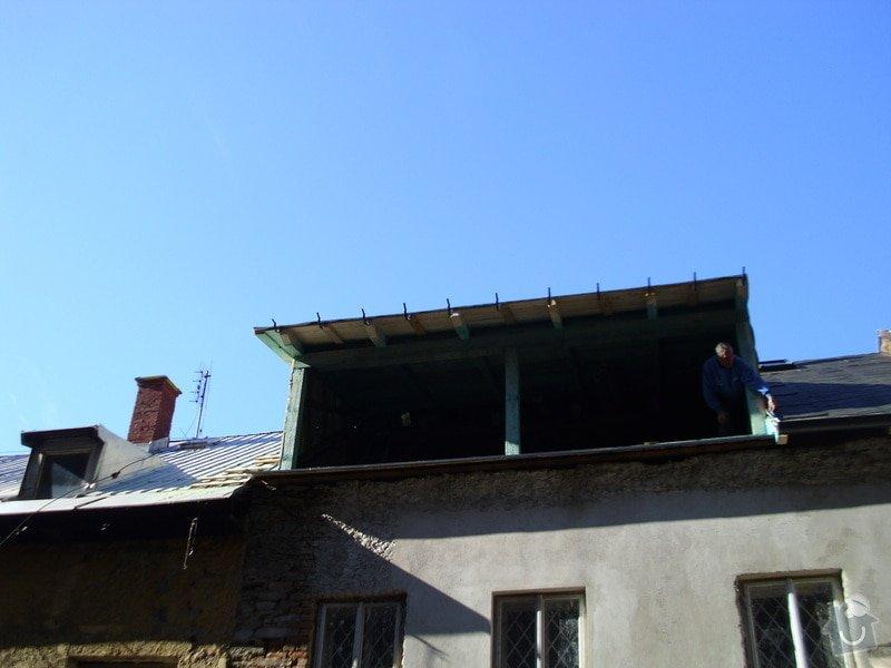 Pokládka střechy ze šindele, bitumenu: IMG_1612