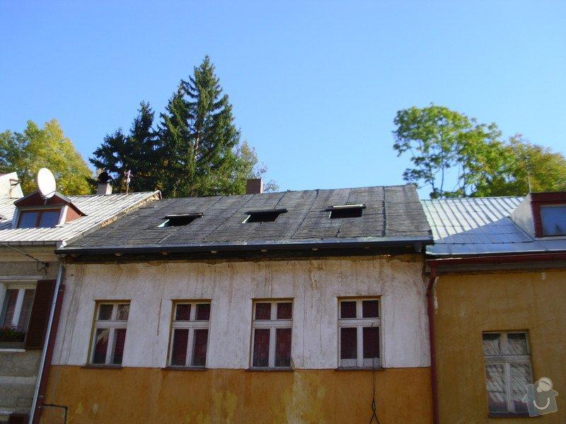 Pokládka střechy ze šindele, bitumenu: IMG_1614
