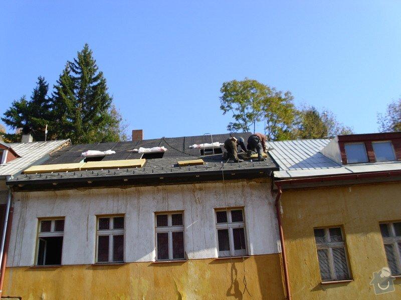 Pokládka střechy ze šindele, bitumenu: IMG_1624