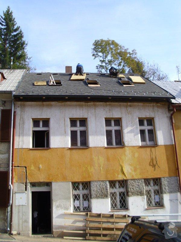 Pokládka střechy ze šindele, bitumenu: IMG_1635