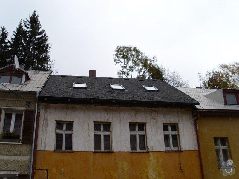 Pokládka střechy ze šindele, bitumenu: IMG_1636