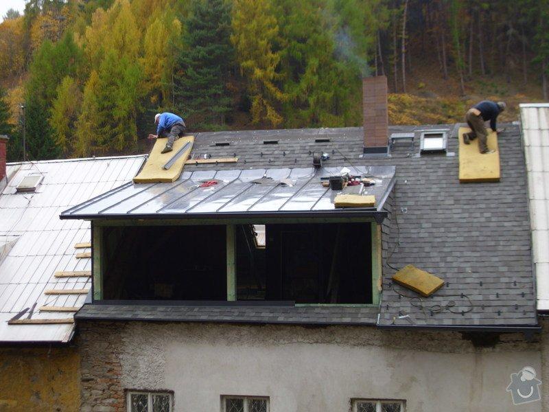 Pokládka střechy ze šindele, bitumenu: IMG_1643