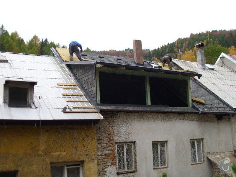 Pokládka střechy ze šindele, bitumenu: IMG_1650