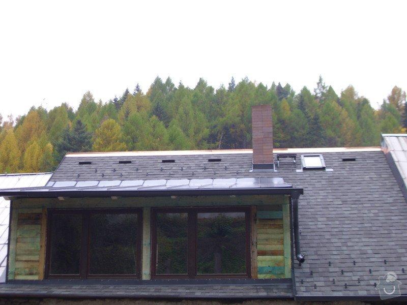 Pokládka střechy ze šindele, bitumenu: IMG_1721