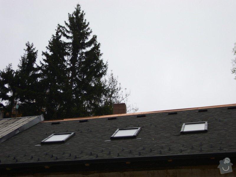 Pokládka střechy ze šindele, bitumenu: IMG_1742