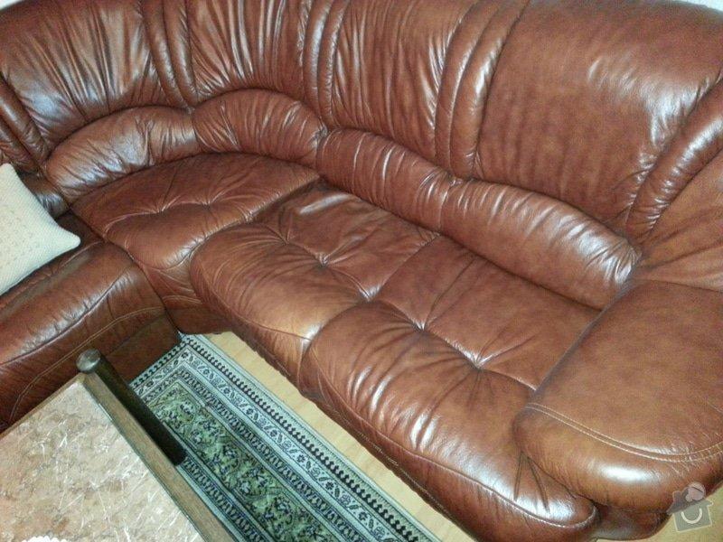 Kožená sedačka a křesla - renovace barvy: 20121104_202517