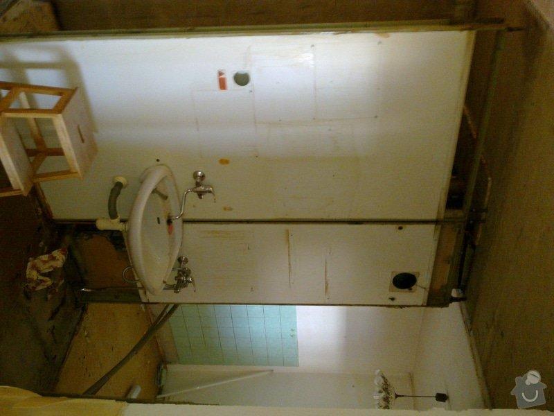 Dokončení demolice jádra ve 2+KK, Háje: 041120121373