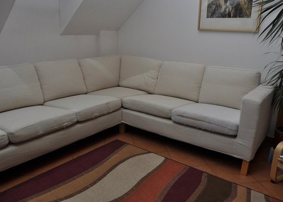 Renovace čalouněné sedačky 3+2
