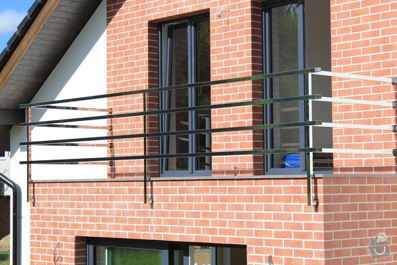 Balkónové zábradlí z nerezi a interiérové zábradlí: IMG_0533