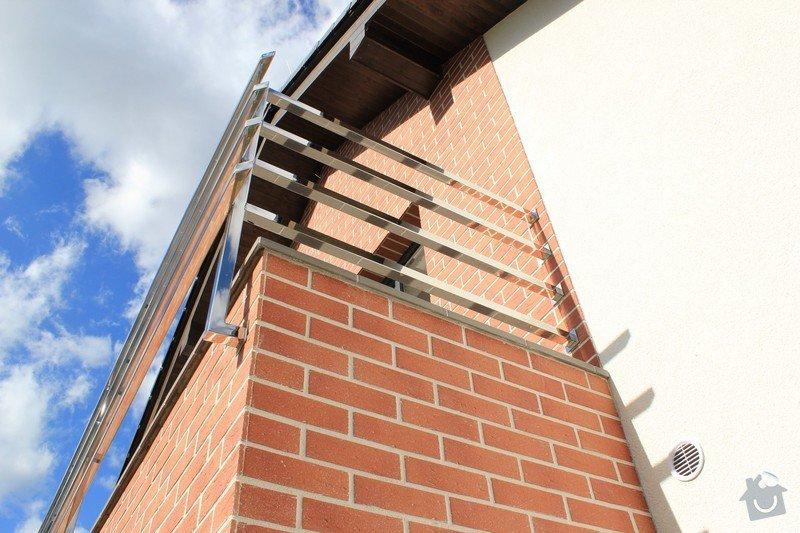 Balkónové zábradlí z nerezi a interiérové zábradlí: IMG_0537