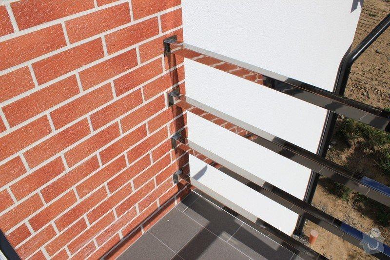 Balkónové zábradlí z nerezi a interiérové zábradlí: IMG_0546