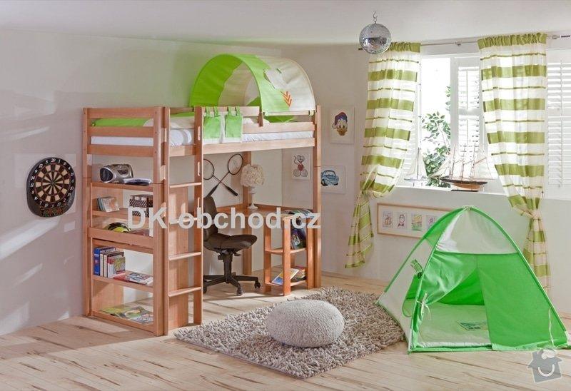 Patrová postel na míru: Martex-28660-Patrova-postel-Toli-buk