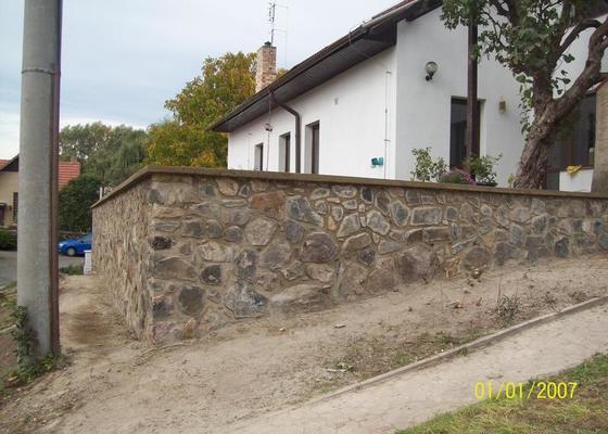 Rekonstrukce tarasu