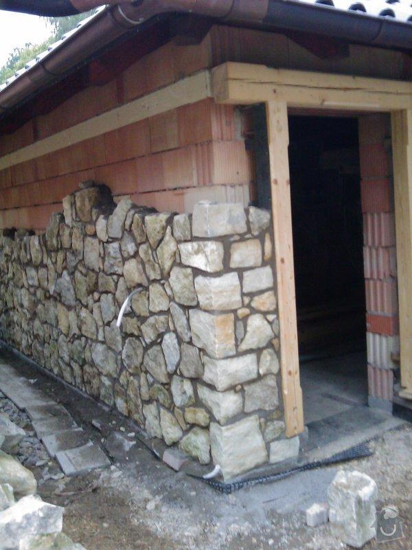 Obezdívka garáže: IMAG0513