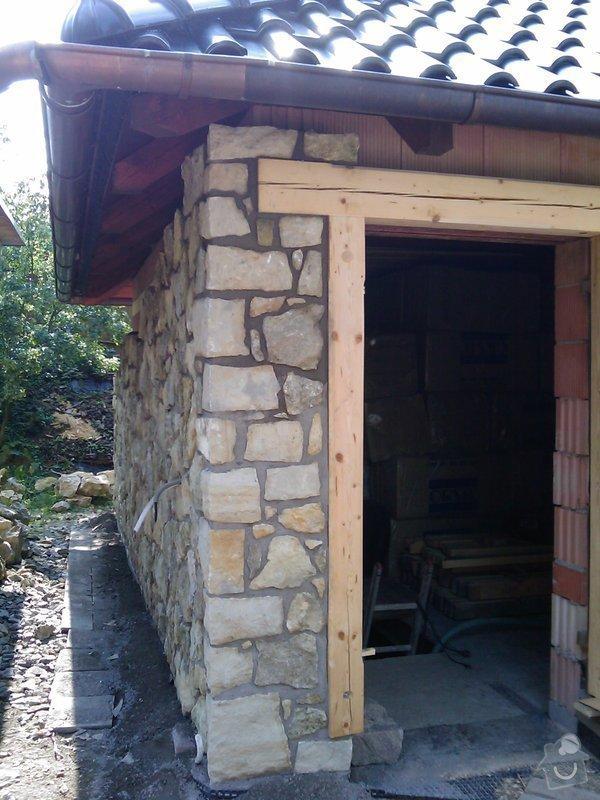 Obezdívka garáže: IMAG0522