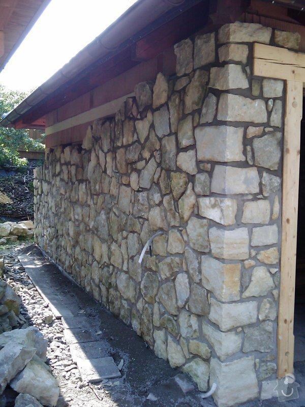 Obezdívka garáže: IMAG0523