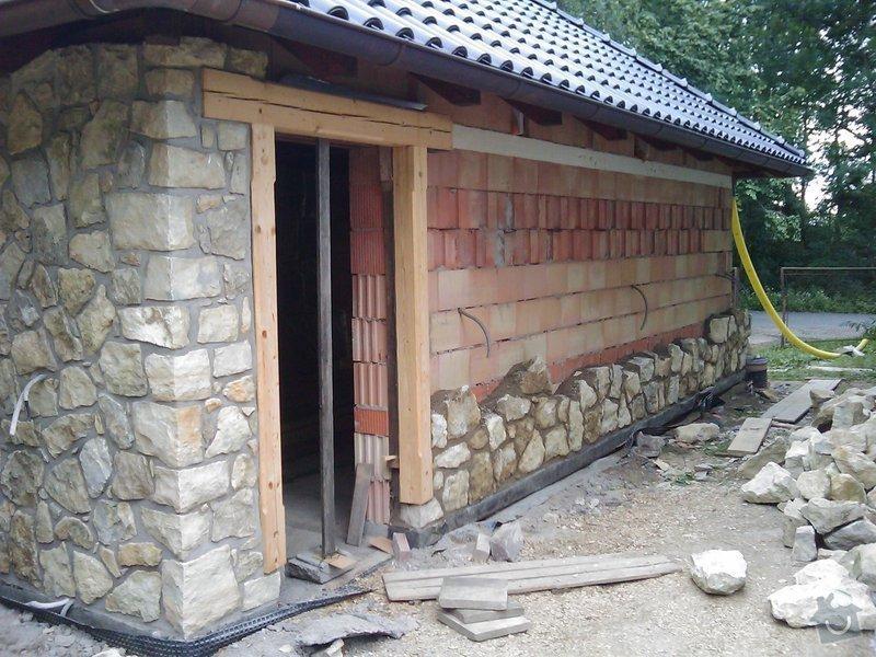 Obezdívka garáže: IMAG0559