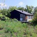 Demolice drevene chatky 50 m2 chata1