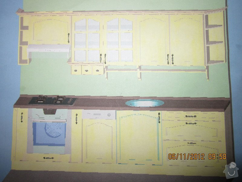 Výroba a montáž kuchyně v panelovém bytě: IMG_0746