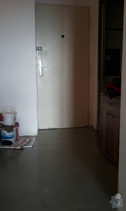 Podlahy v kuchyni a predsini: Fotografie0278